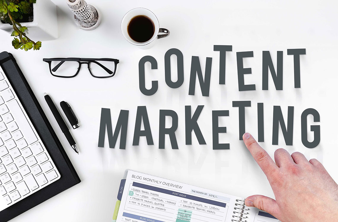 Blogpost Image, Content Marketing - Webcrafter